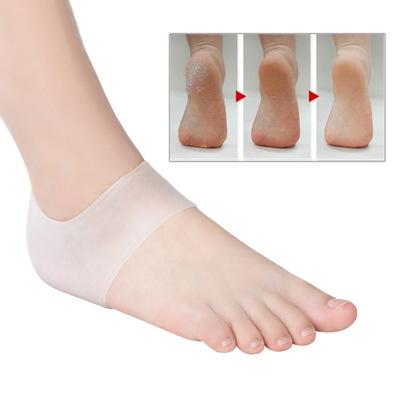 Combo 2 miếng silicon bảo vệ gót chân (màu cam hồng)