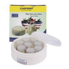 Máy Làm Sữa Chua Chefman 8 Hũ Thuỷ Tinh CM02T