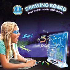 Bộ Tranh Vẽ Ma Thuật Hiệu Ứng 3D