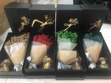 Hoa Khô Hương Thảo Mộc Kiểu Pháp ( xanh la, đỏ, vang, xanh dương, kem)