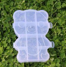 Hộp Nhựa Đa Năng Hình Gấu
