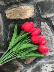 Bó Hoa Tulip Cao Su Cao Cấp