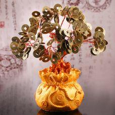 Cây Tài Lộc Tiền Xu Chiêu Tài 26cm