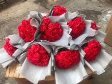 Bó Hoa Hồng Sáp 11 bông