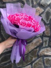 Bó hoa hồng sáp 33 bông