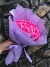 Bó hoa hồng sáp 22 bông