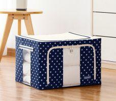 Tủ Vải 100L Khung Cứng (bi xanh đen, bi hồng)