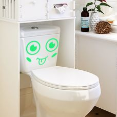Decal Dạ Quang Dán Toilet size nhỏ