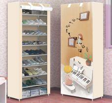 Tủ Giày 10 Tầng 3D (cây đàn)
