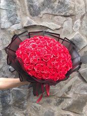 Bó Hoa Hồng Sáp 99 Bông (đỏ)