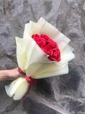 Bó Hoa Hồng Sáp 11 Bông ( đỏ)