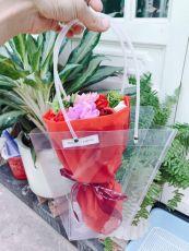 Bó Hoa Hồng Soap Momoyoyoto ( đỏ )