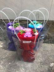 Bó Hoa Hồng Soap Momoyoyoto ( đỏ, hồng, xanh)