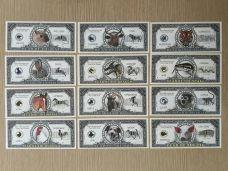 Bộ Tiền 12 Con Giáp 1 Triệu Đô Mỹ