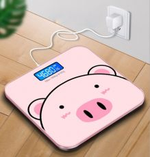 Cân Điện Tử Hình Heo Sạc USB