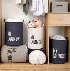 Túi Đựng Quần Áo My Laundry (xám, đen)