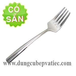 Nĩa inox size lớn cán dài 220mm