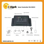 Solar Charge Pwm Os-C0612 6a/12v