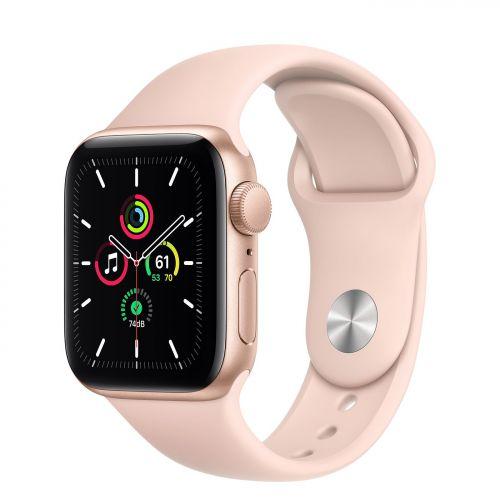 Apple Watch Series 6 SE 40mm GPS Gold Aluminum Case with Sport Band Chính hãng