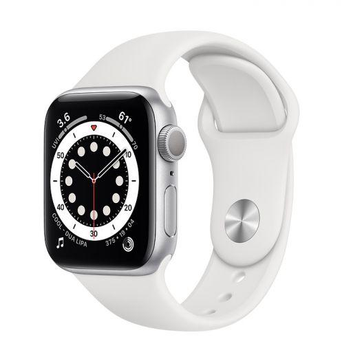 Apple Watch Series 6 SE 40mm GPS Silver Aluminum Case with White Sport Band Chính hãng