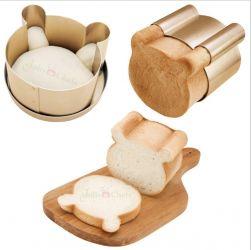 Chefmade - Khuôn bánh mì gối hình gấu