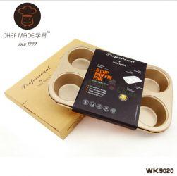 Chefmade - Khuôn cupcake 6 lỗ