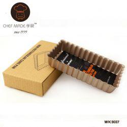 Chefmade - Khuôn tart chữ nhật 10*6cm