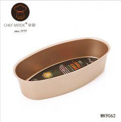 Chefmade - Khuôn bánh bầu dục 22*11cm
