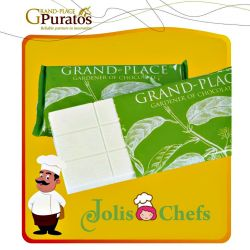 Chocolate Grand Place Puratos Tấm Trắng 1Kg (gpw014)