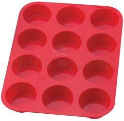 Khuôn Cupcake Silicone 12 Lỗ (33x 25 x 3cm)