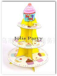 Giá để cupcake bằng bìa - party time