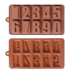 Khuôn Silicone Chocolate Hình Số