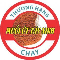 Muối ớt Tây Ninh chay thượng hạng 100g