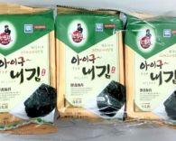 Lá Kim ăn liền Hàn Quốc 5g*3 gói