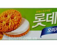 Bánh Lotte Sand vị truyền thống