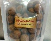 Hạt macca nguyên vỏ Atlas Australia túi 500g
