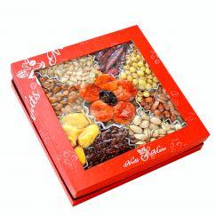 Hộp quà hạt dinh dưỡng hộp vuông 10 vị HV13