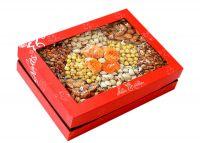 Hộp quà hạt dinh dưỡng hộp chữ nhật 6 vị HCN4