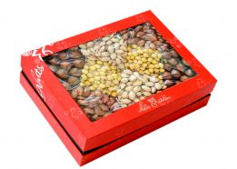 Hộp quà hạt dinh dưỡng hộp chữ nhật HCN3
