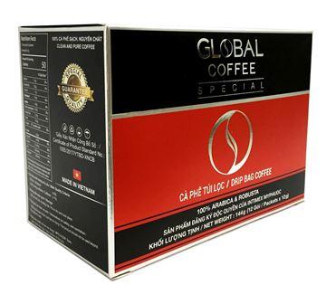 Cà  phê túi lọc global Special 144g