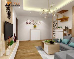 Thiết kế nội thất nhà chung cư căn hộ Anh Điển - HATECO