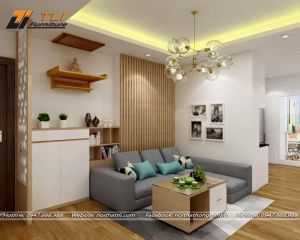 Nội thất phòng khách chung cư - Anh Điển (HATECO)