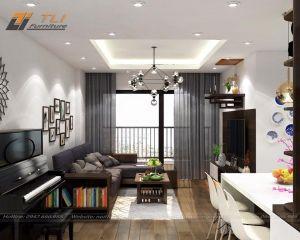 Thi công nội thất trọn gói chung cư - căn hộ Anh Tính