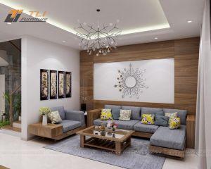 Thiết kế thi công nội thất căn hộ cô Sinh - TP Yên Bái