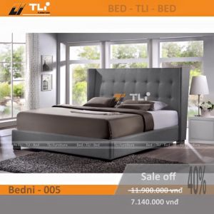 Giường ngủ hiện đại BEDNI-005