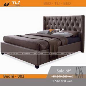 Giường ngủ hiện đại BEDNI-003