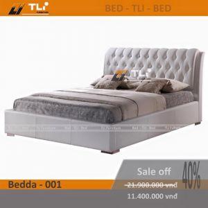Giường ngủ hiện đại bọc da cao cấp