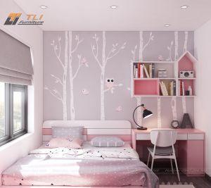 Thiết kế nội thất chung cư anh Hải - CIENCO5 Thanh Hà