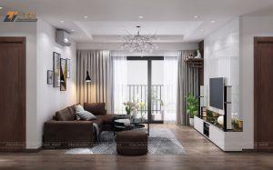 Thiết kế nội thất chung cư anh Tư - Goldmark City