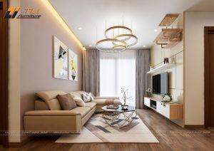 Thiết kế nội thất chung cư anh Trần Tuấn - Green Bay
